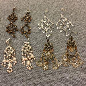 Jewelry - Earrings - set of 4